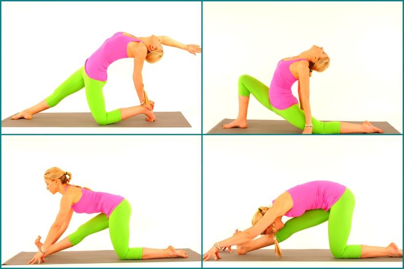 Techniques of Vinyasa Flow Yoga: Kriya and PratiKriya / Pose and Counter pose