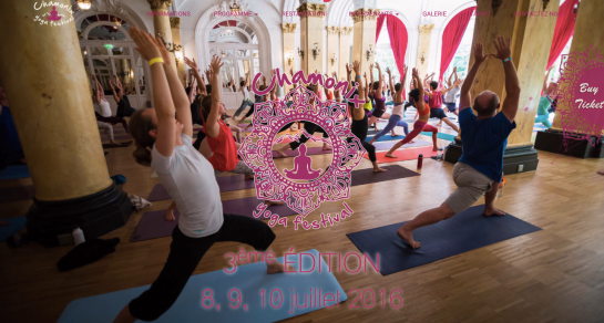 Chamonix Yoga Festival at the Majestic