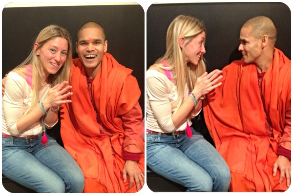 Swami Samarpananda Saraswati from Rishikesh Blessings at The Light Centre Moorgate
