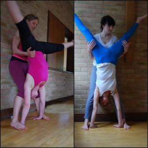 Handstand Stradle Adjust
