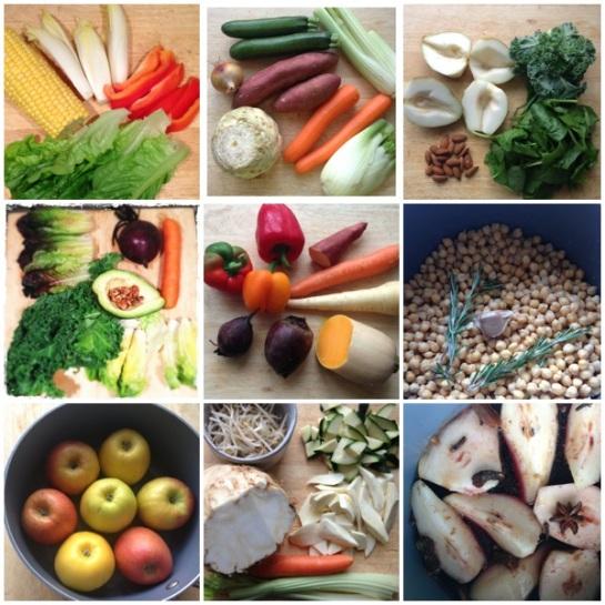 Autumn Food Mood Board