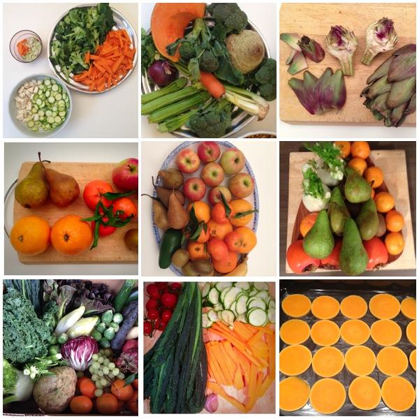 Winter Food Mood Board